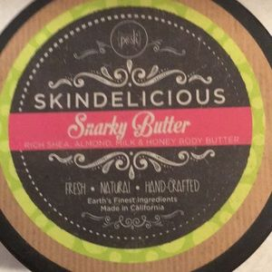 Perfectly posh snarky butter almond/honey/shea